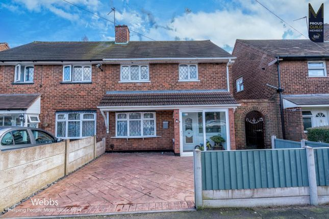 2 bed semi-detached house for sale in Gower Street, Walsall WS2