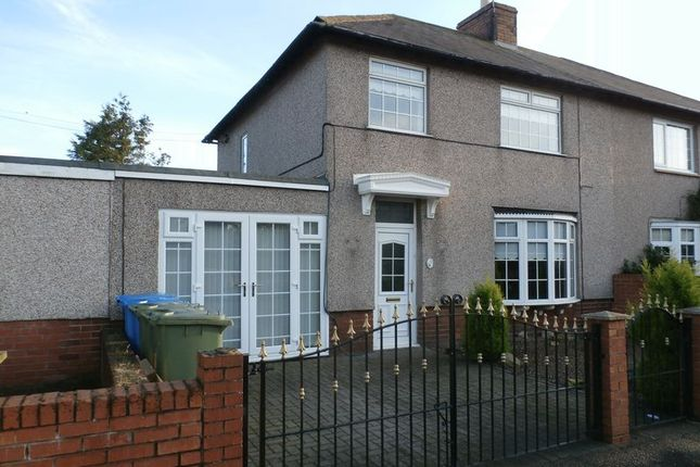 Thumbnail Semi-detached house for sale in Woodbine Street, Amble, Morpeth