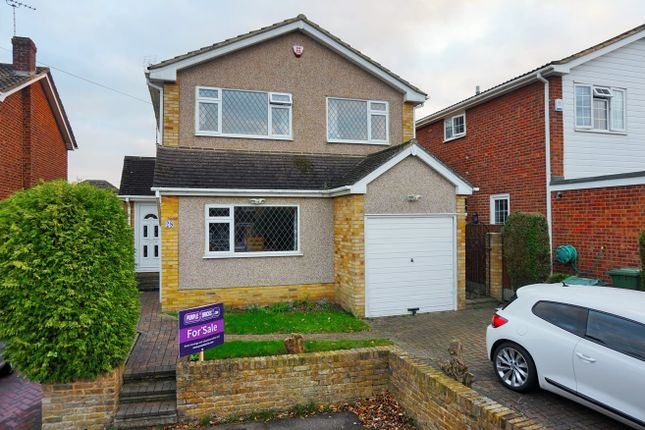 Thumbnail Detached house for sale in Parsonage Field, Brentwood