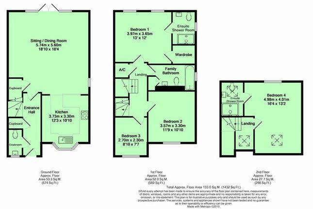 Floor Plan of Mill Street, Kidlington OX5
