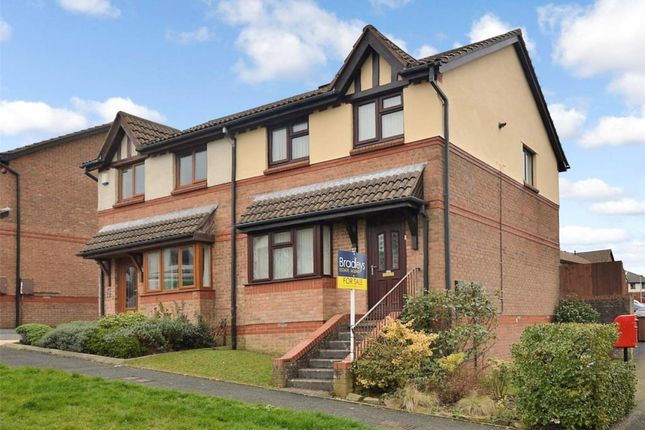 Thumbnail Semi-detached house for sale in Redwood Drive, Plymouth, Devon