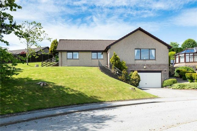 Thumbnail Detached bungalow for sale in Craigston Gardens, Westhill, Aberdeenshire