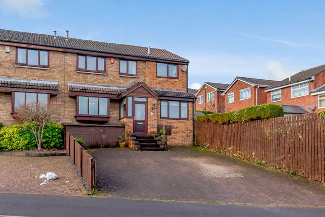 Thumbnail Semi-detached house for sale in Little Matlock Gardens, Sheffield