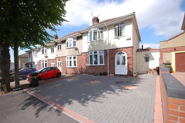Thumbnail Semi-detached house for sale in Gordon Avenue, Whitehall, Bristol