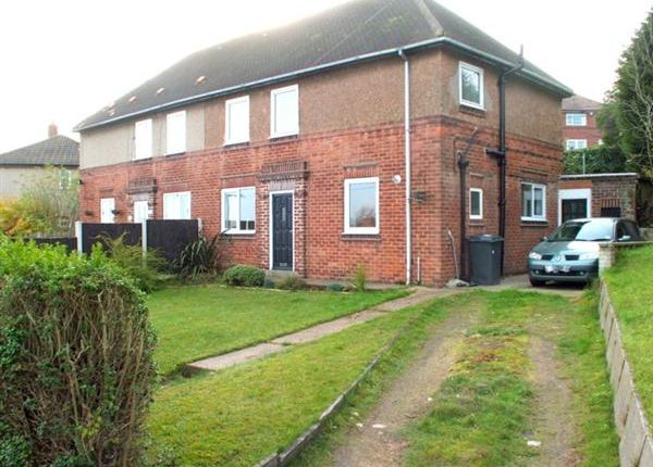 Thumbnail Semi-detached house for sale in Southfield Close, Whitwell, Worksop