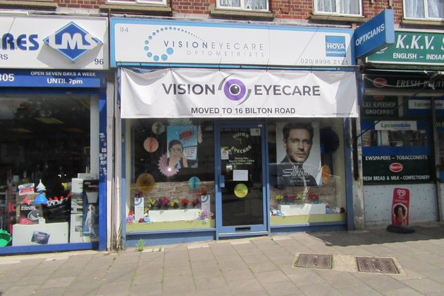 Thumbnail Retail premises to let in Bilton Road, London