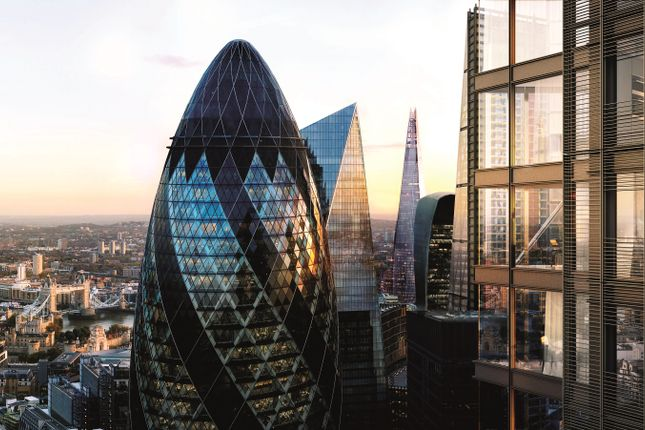 Thumbnail Flat for sale in 34.02-One Bishopsgate Plaza - 34.02, 150 Bishopsgate, City Of London