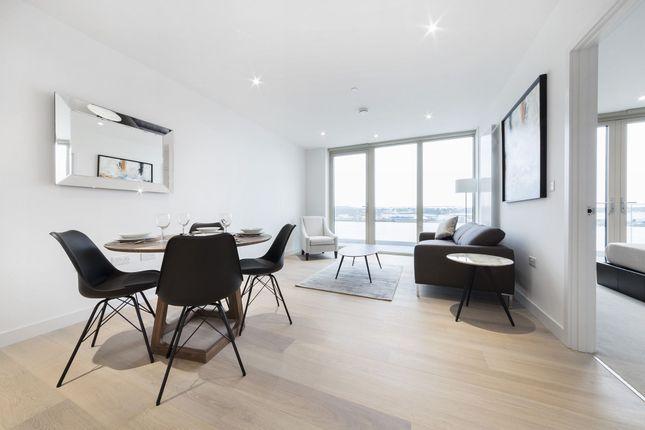 Thumbnail Flat to rent in Liner House, 3 Royal Wharf Walk, Royal Wharf, Silvertown, London