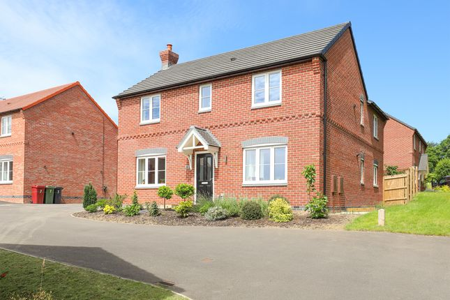 Thumbnail Detached house for sale in Baker Crescent, Wingerworth, Chesterfield