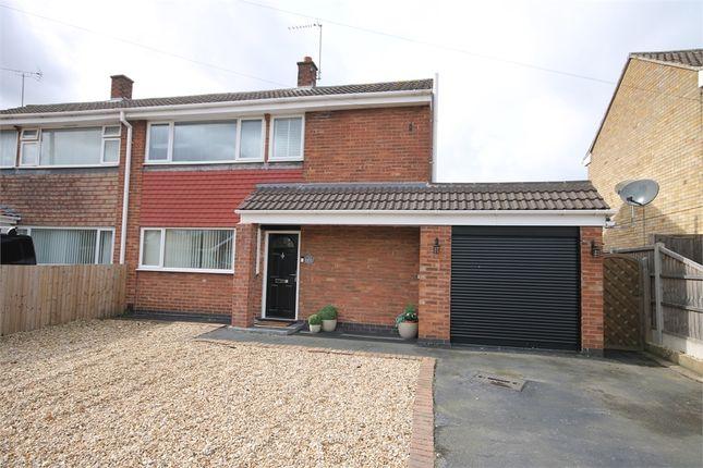 Semi-detached house for sale in Macauley Drive, Balderton, Newark, Nottinghamshire.