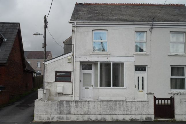 Thumbnail Semi-detached house to rent in Brecon Road, Ystradgynlais, Swansea
