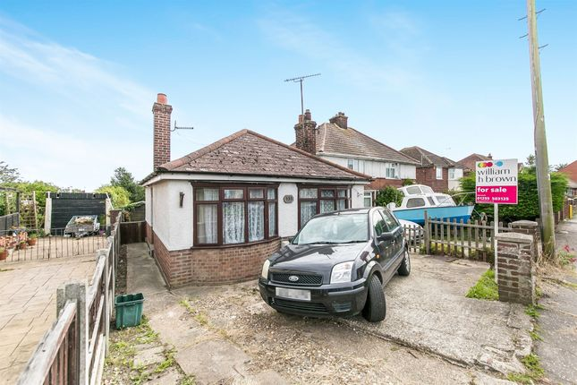Thumbnail Detached bungalow for sale in Main Road, Dovercourt, Harwich