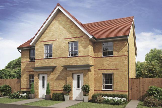 "Thumbnail Semi-detached house for sale in ""Palmerston"" at Llantarnam Road, Llantarnam, Cwmbran"