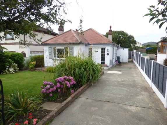 Thumbnail Bungalow for sale in St. Georges Drive, Deganwy, Conwy, North Wales