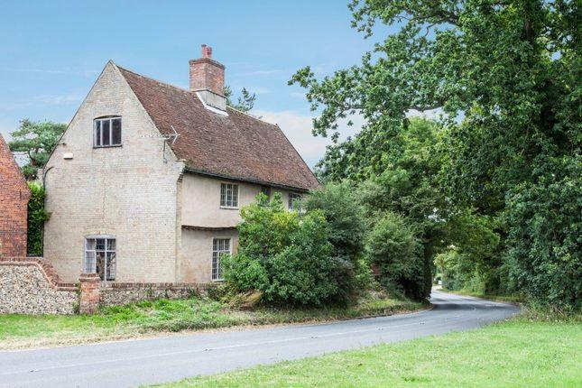 Thumbnail Farmhouse for sale in Hill Farmhouse, London Road, Shadingfield