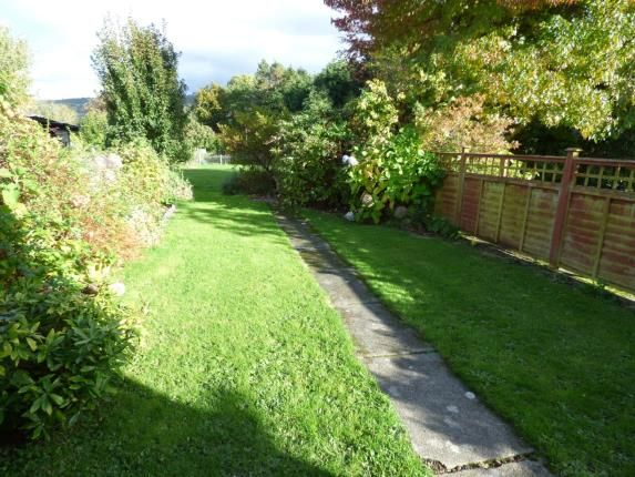 Cottage Garden of Tal Y Bont, Conwy, North Wales LL32