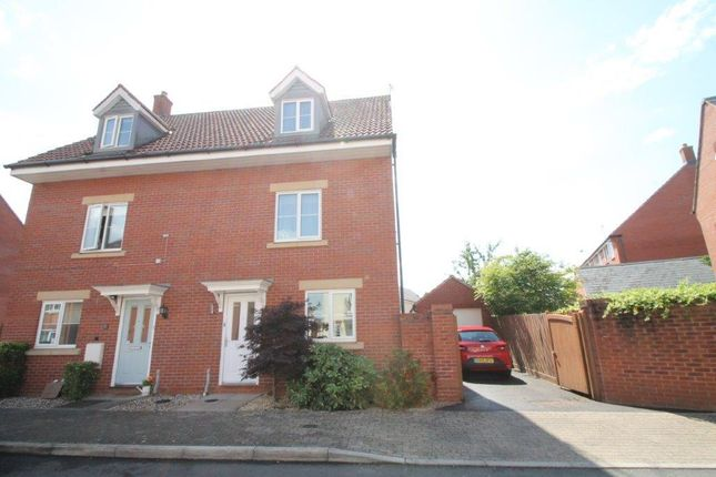 Thumbnail Semi-detached house for sale in Crown Road, Walton Cardiff, Tewkesbury
