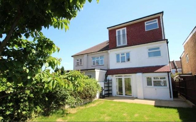 Thumbnail Semi-detached house for sale in Waddon Park Avenue, Waddon, Croydon