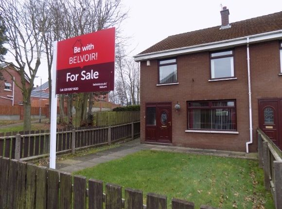 End terrace house for sale in Causeway End Park, Ballinderry Upper, Lisburn