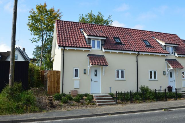 Thumbnail End terrace house for sale in The Street, Sturmer, Haverhill