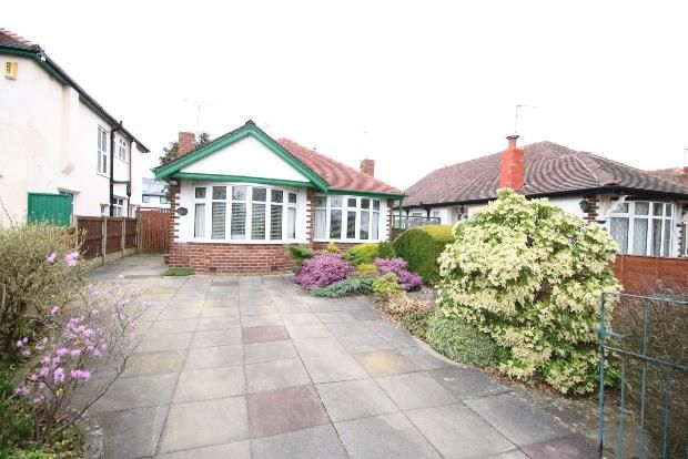 Thumbnail Detached bungalow for sale in Cricket Path, Formby, Liverpool