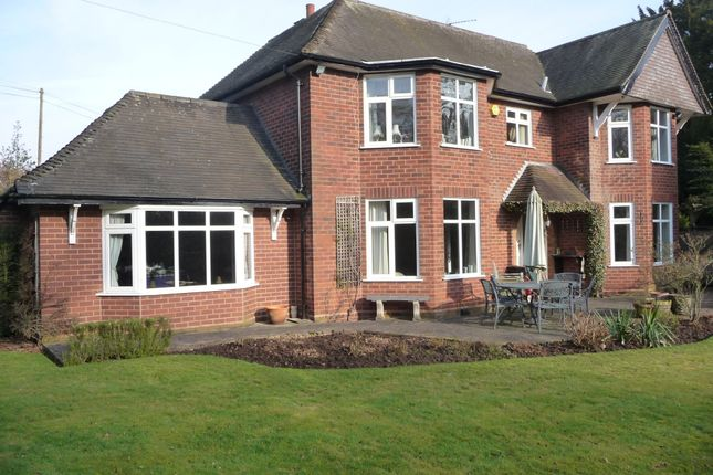 Thumbnail Detached house for sale in Lysways Lane, Rugeley
