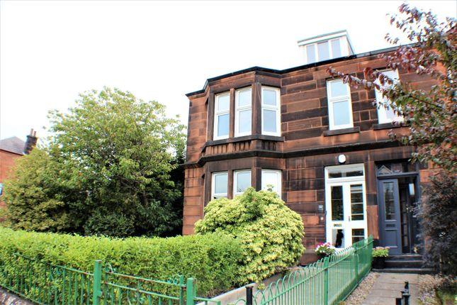 Thumbnail Terraced house for sale in Queen Victoria Drive, Glasgow