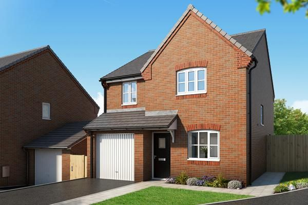 "Thumbnail Property for sale in ""The Orchid At Mill Farm, Tibshelf"" at Mansfield Road, Tibshelf, Alfreton"