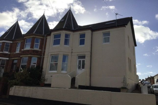Thumbnail Flat to rent in Withycombe Road, Exmouth