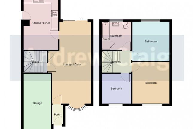 Floor Plan of Dykelands Way, South Shields NE34