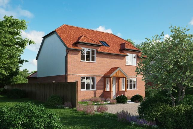 Thumbnail Detached house for sale in The Causeway, Brent Pelham, Buntingford