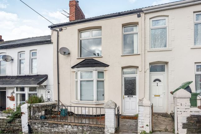 Thumbnail Terraced house for sale in Mount Pleasant Street, Bargoed