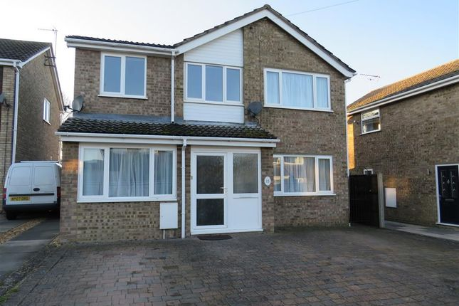 Thumbnail Detached house to rent in Manor Road, Stilton, Peterborough