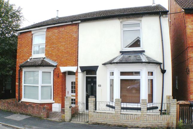 Thumbnail Semi-detached house to rent in Balmoral Road, Andover