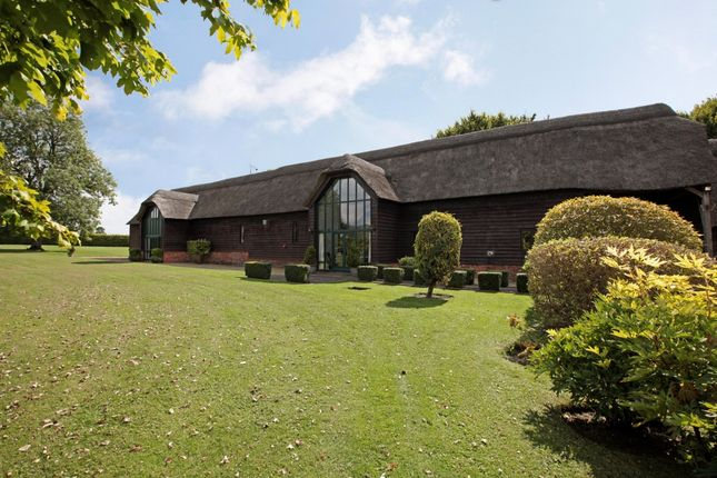 Thumbnail Barn conversion to rent in Stanton St. Bernard, Marlborough