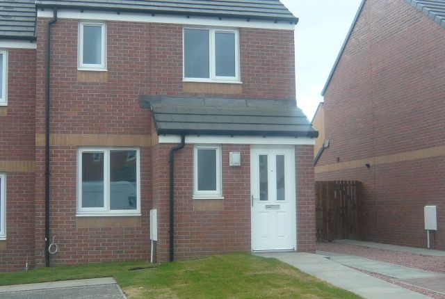 Thumbnail Semi-detached house to rent in Ritchie Avenue, Dunfermline