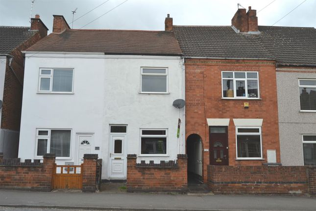 Terraced house for sale in Charnwood Road, Shepshed, Leicestershire