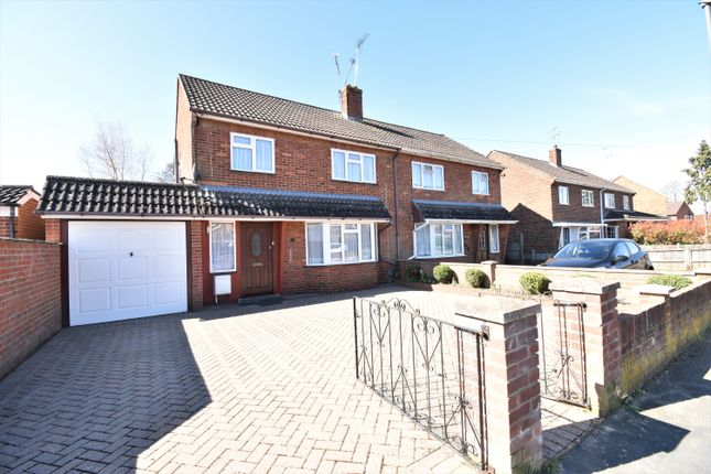 Thumbnail Semi-detached house to rent in Lea Road, Camberley