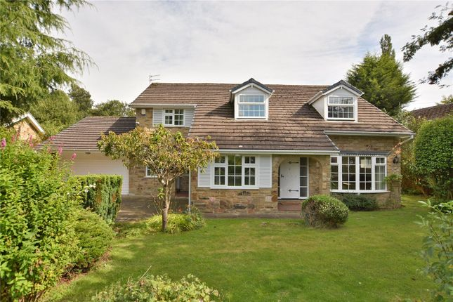 Thumbnail Detached house for sale in Heather Vale, Scarcroft, Leeds, West Yorkshire
