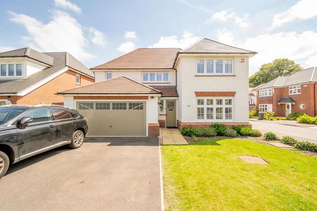 Thumbnail Detached house for sale in Cricketers Grove, Harborne, Birmingham