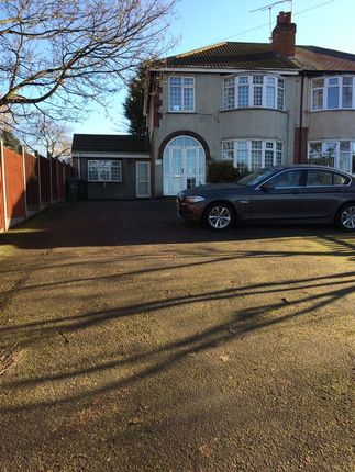 Thumbnail Semi-detached house for sale in Melton Road, Thurmaston, Leicester