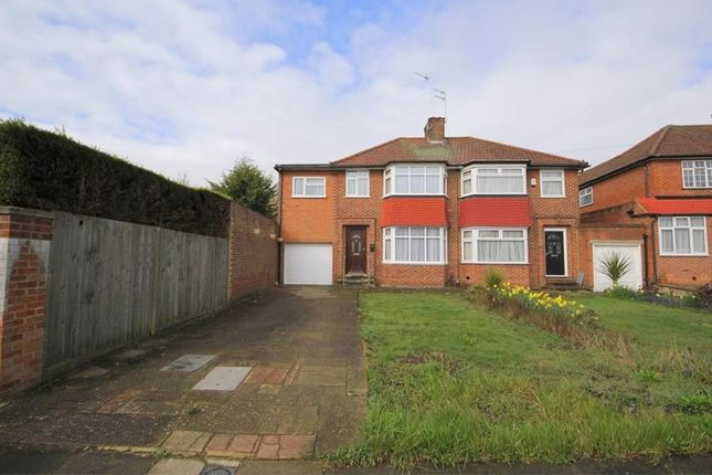 Thumbnail Semi-detached house for sale in Culgaith Gardens, Enfield