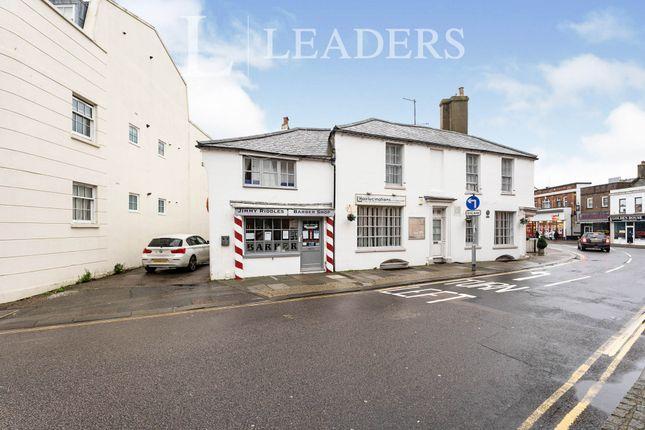 Thumbnail Flat to rent in Surrey Street, Littlehampton