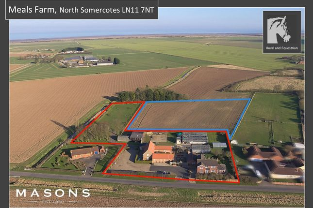 Thumbnail Detached house for sale in Marsh Lane, North Somercotes, Louth