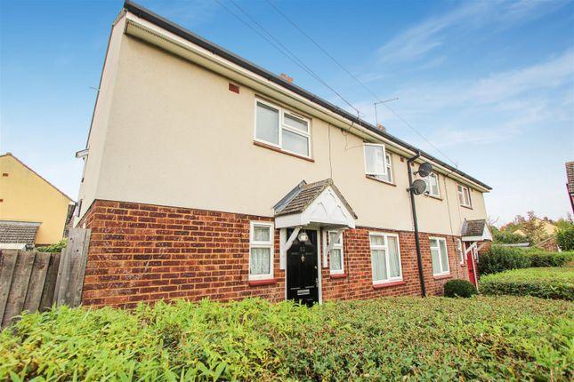 Thumbnail Semi-detached house to rent in Belle Isle Crescent, Brampton, Huntingdon
