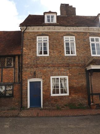 Thumbnail Terraced house to rent in Church Approach, Lingfield