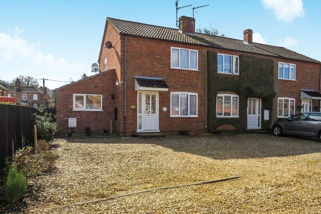 Thumbnail End terrace house for sale in Iveagh Close, Dersingham, King's Lynn