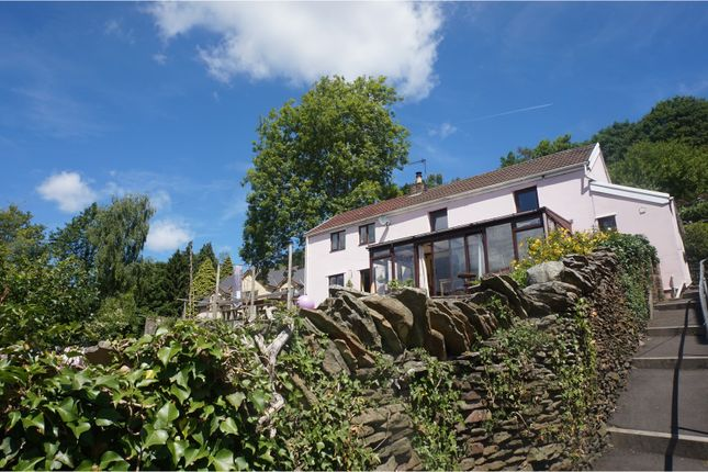 Thumbnail Detached house for sale in Pantygraigwen Road, Graigwen, Pontypridd