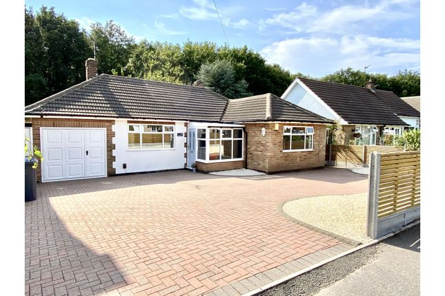 Thumbnail Detached bungalow for sale in Woodlands Drive, Groby