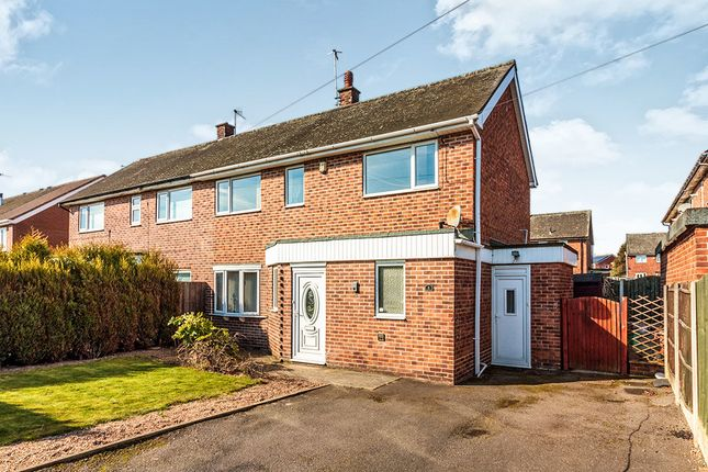 Thumbnail Semi-detached house for sale in Gotham Road, Brinsworth, Rotherham